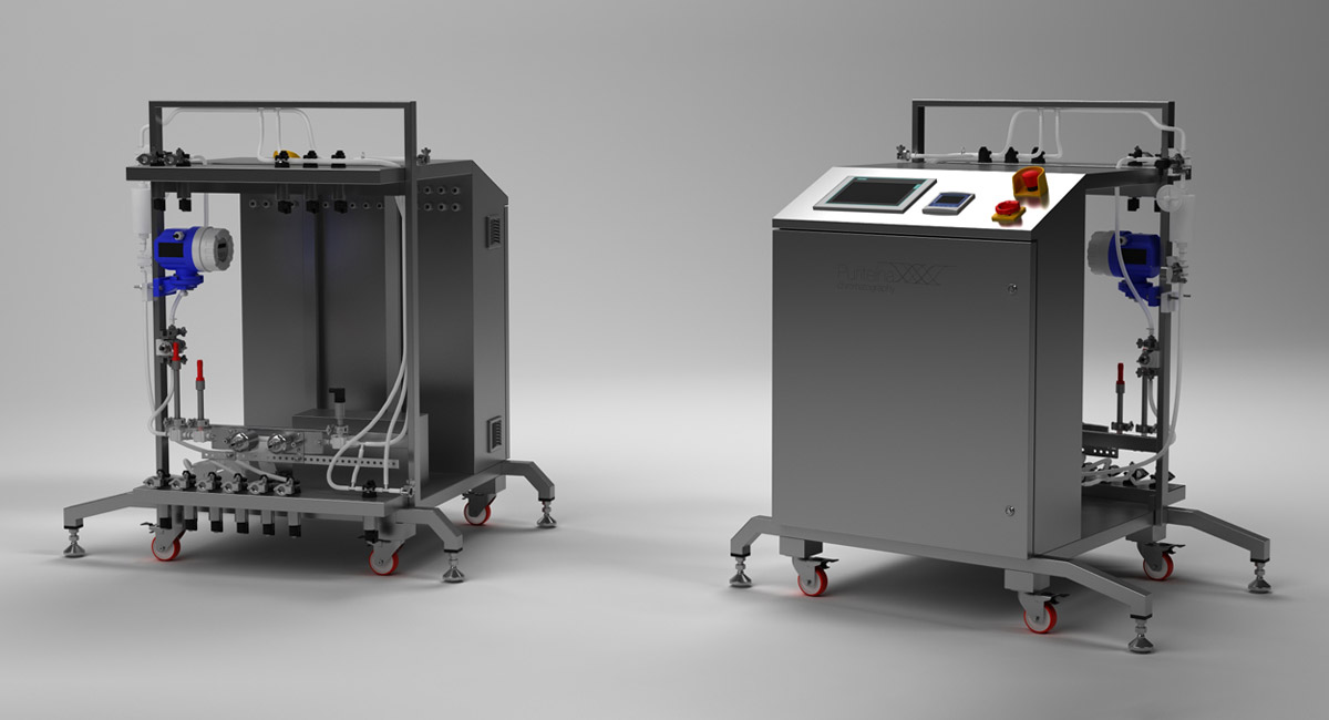 Cromatógrafo de processos Puriteína